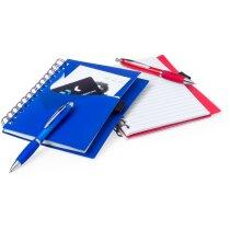 Libreta con bolígrafo en tamaño A5 en colores a elegir personalizado