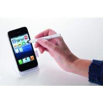 Soporte con bolígrafo puntero para móvil personalizado