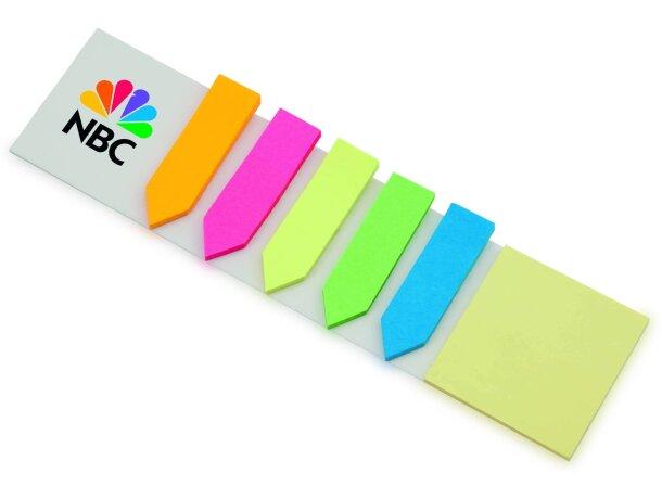 Set de marcadores adhesivos personalizado