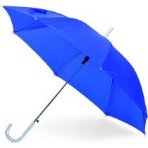 Paraguas para serigrafiar en 1 o varios gajos barato azul