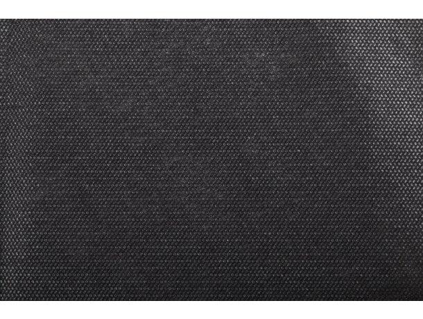 Salvamatel de no tejido decorado personalizado negro