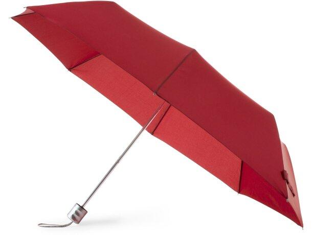 Paraguas básico de 96 cm de diámetro personalizado rojo