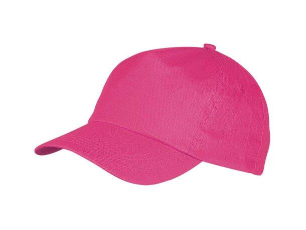 Gorra básica en algodón con 5 paneles personalizada