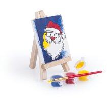 conjunto de pinturas con pincel personalizada