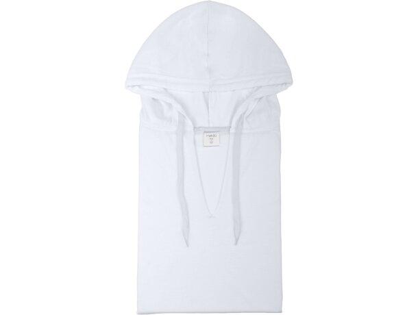 Camiseta especial con capucha blanca