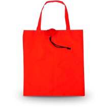 Bolsa plegable con forma de rosa roja personalizada