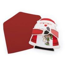 Carta postal de Navidad personalizada