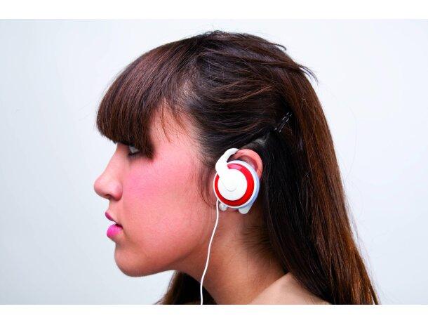 Cascos auriculares en varios colores personalizado