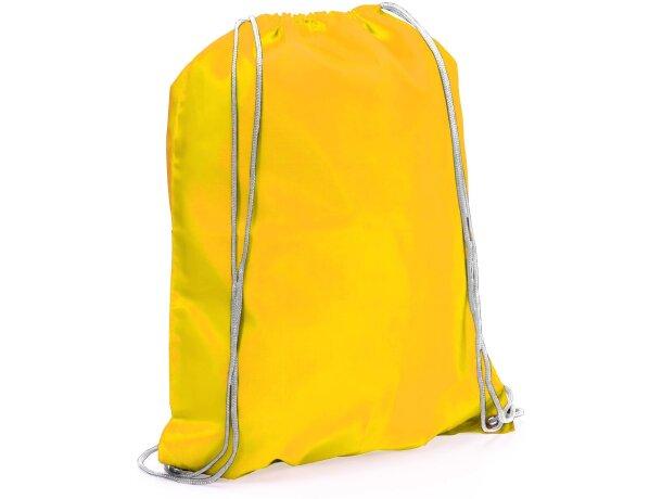 Spook mochila saco con cuerdas barata amarilla