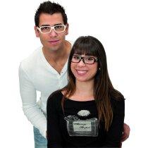 Gafas sin cristal en varios colores personalizada