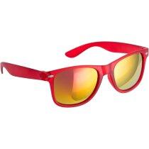 Gafas sol en varios colores 400 uv personalizada roja