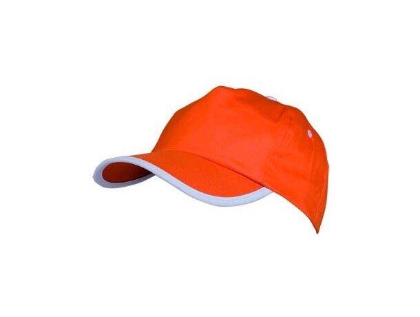 Gorra sencilla de algodón con detalles de color personalizada