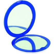 Espejo Redondo De Plastico Personalizado