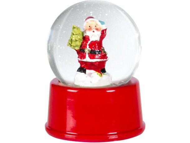 Bola de nieve de papa Noel personalizada
