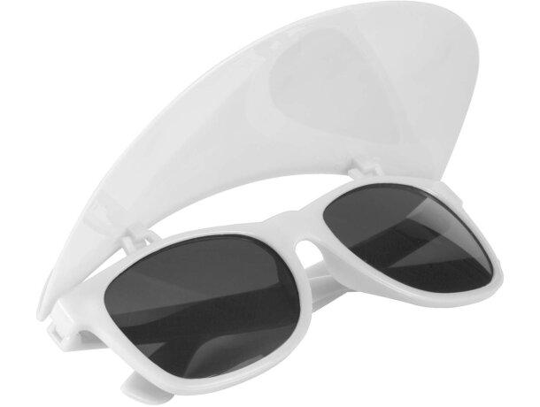 Gafas de sol con visera personalizada blanca