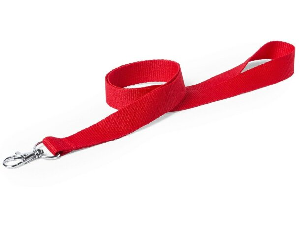 Lanyard con enganche metálico