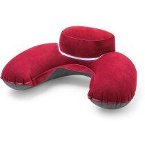 Almohadilla de microfibra gran comodidad personalizada roja