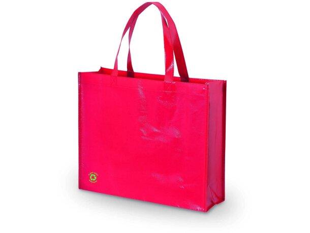 Flubber bolsa de la compra plastificada personalizada