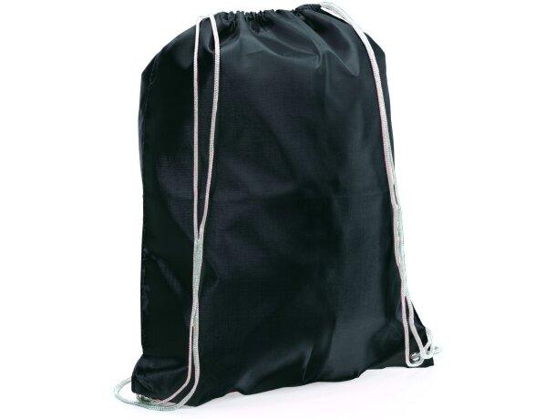 Spook mochila saco con cuerdas barata negra barata