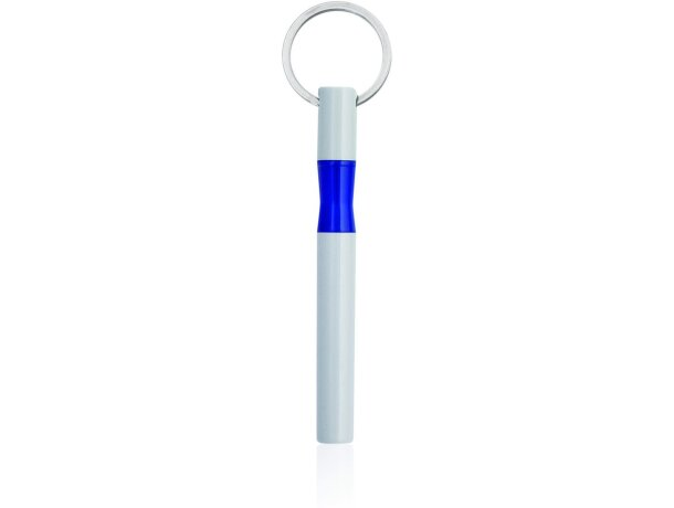Llavero con bolígrafo integrado