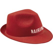Sombrero acrílico de colores ala irregular personalizado