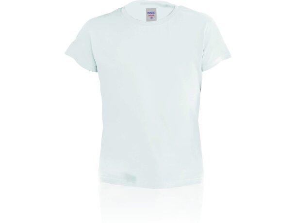 Camiseta de niño 135 gr blanca merchandising