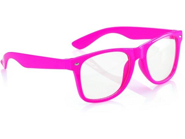 Gafas en varios colores flúor