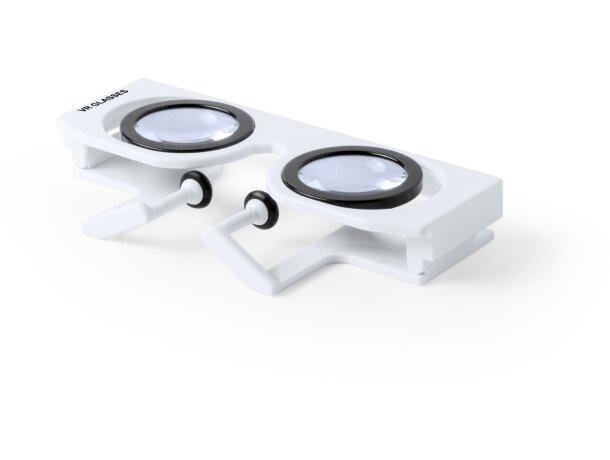 Gafas VR lente ajustable personalizada blanca