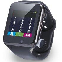 Reloj inteligente pantalla 1,54 pulgadas personalizado negro
