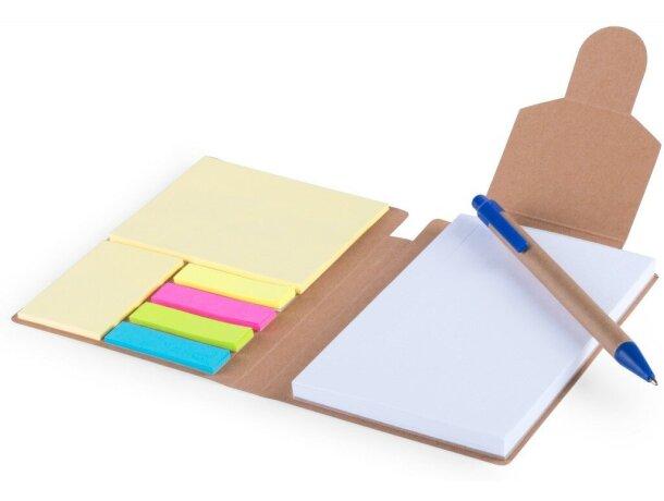 Set de marcadores adhesivos en cartón personalizado