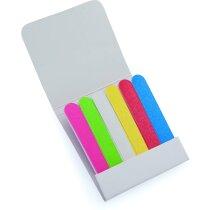 Carterita de limas de uñas personalizado de colores personalizada