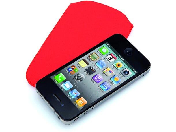 Funda de microfibra para guardar el móvil personalizada