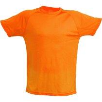 Camiseta en poliester 135 gr unisex tecnic plus grabada