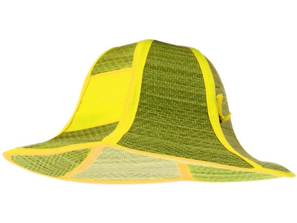 Sombrero plegable con detalles para serigrafiar personalizado