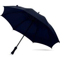 Paraguas ergonómico con mango de eva personalizado negro