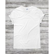 Camiseta blanca 135 gr adulto original