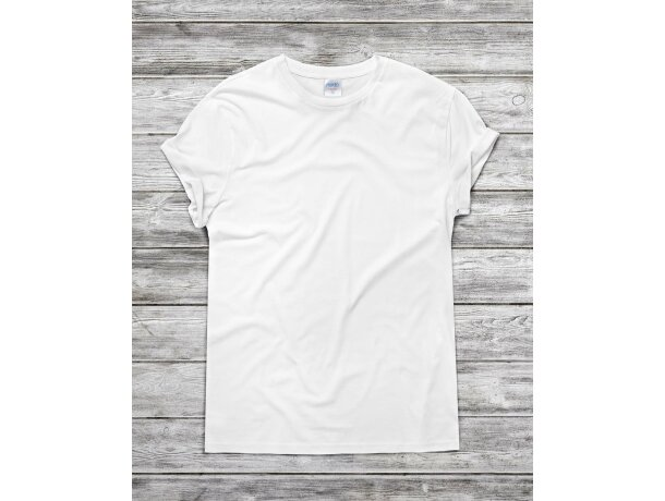 Camiseta blanca 135 gr adulto