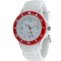 Reloj Hyspol rojo personalizado