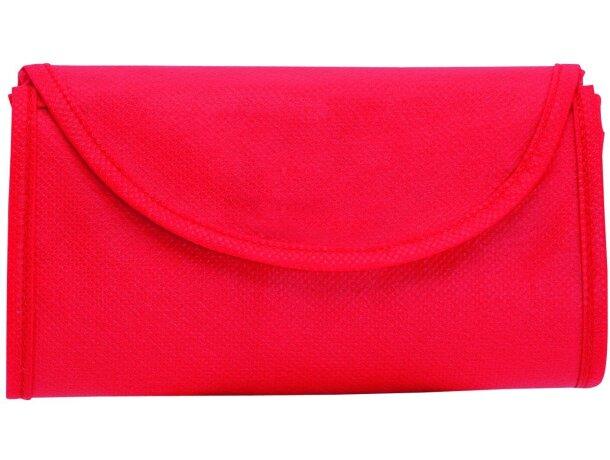 Bolsa tela plegable Konsum sobre barata blanca