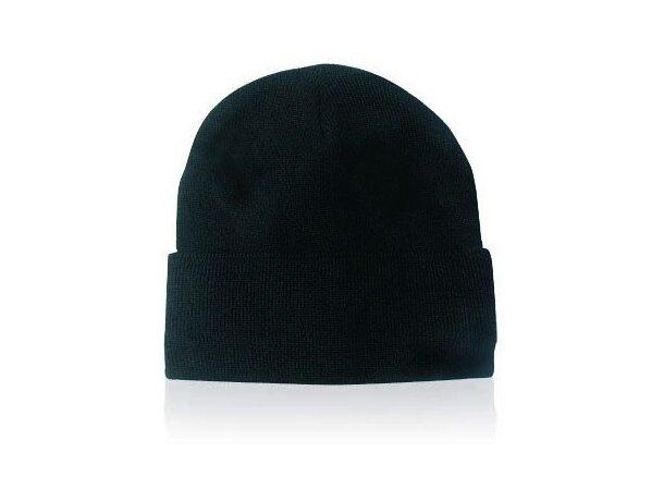 Gorro acabado lana en colores personalizado negro