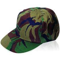Gorra de camuflaje de algodón