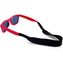 Cinta de soft shell para gafas roja personalizada