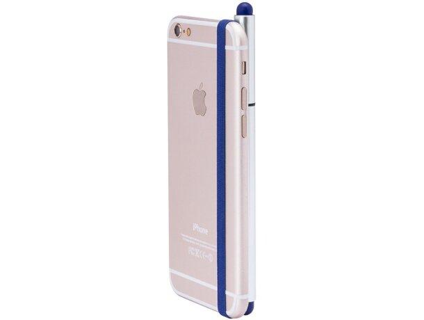 Bolígrafo ajustable en móvil o tablet barato azul
