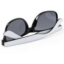 Gafas de sol bicolor personalizada negra