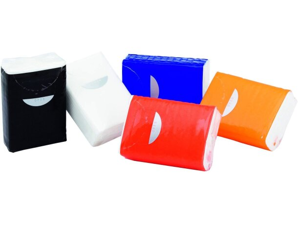 Paquete de pañuelos de papel para empresas