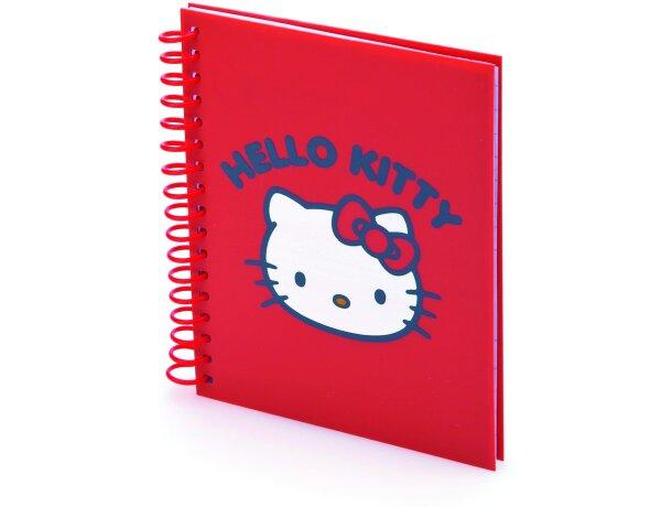 Libreta Bintex de Hello Kitty grabada
