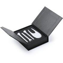 Set de accesorios para golf personalizado blanco