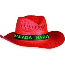 Sombrero de colores en paja personalizado