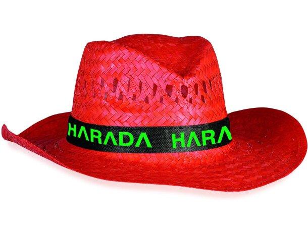 Sombrero de colores en paja personalizado splash