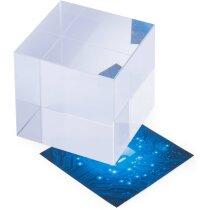 Pisa papeles cuadrado de cristal